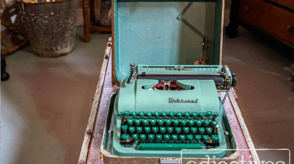 Vintage Typewrite at Tuft inside Adjectives-Arrivals-Cover-Image81216