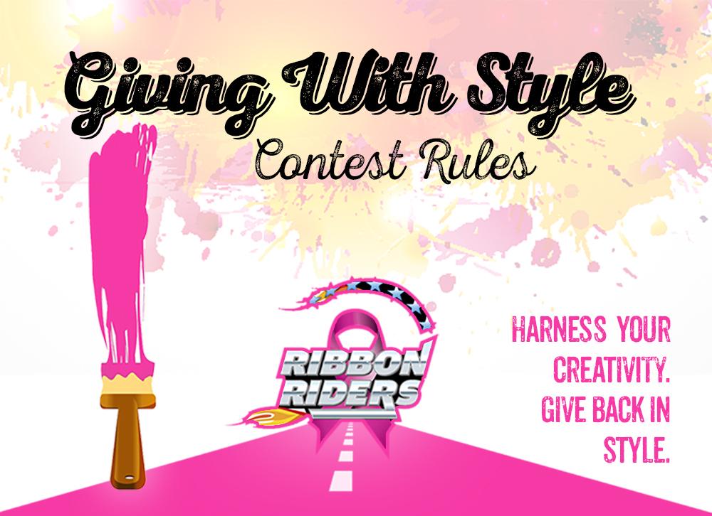 Giving With Style Art Contest Rules