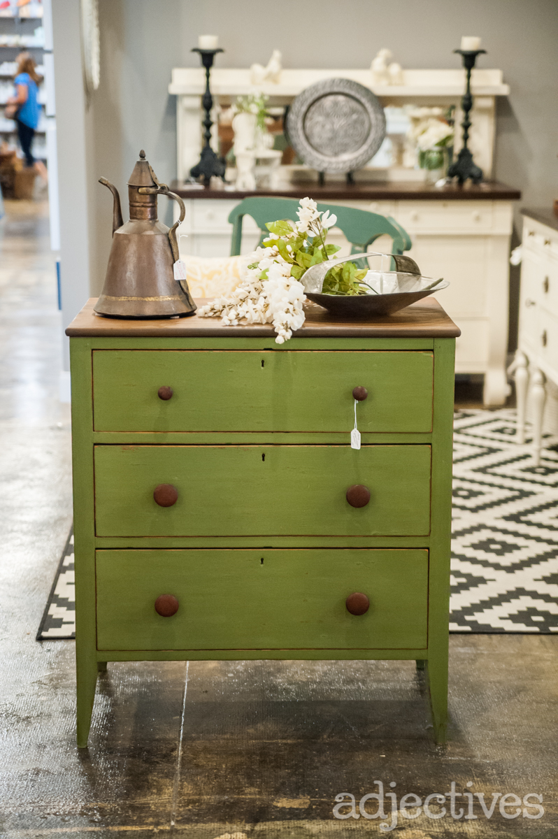Chippy Green Dresser by Turnstyle in Adjectives Altamonte