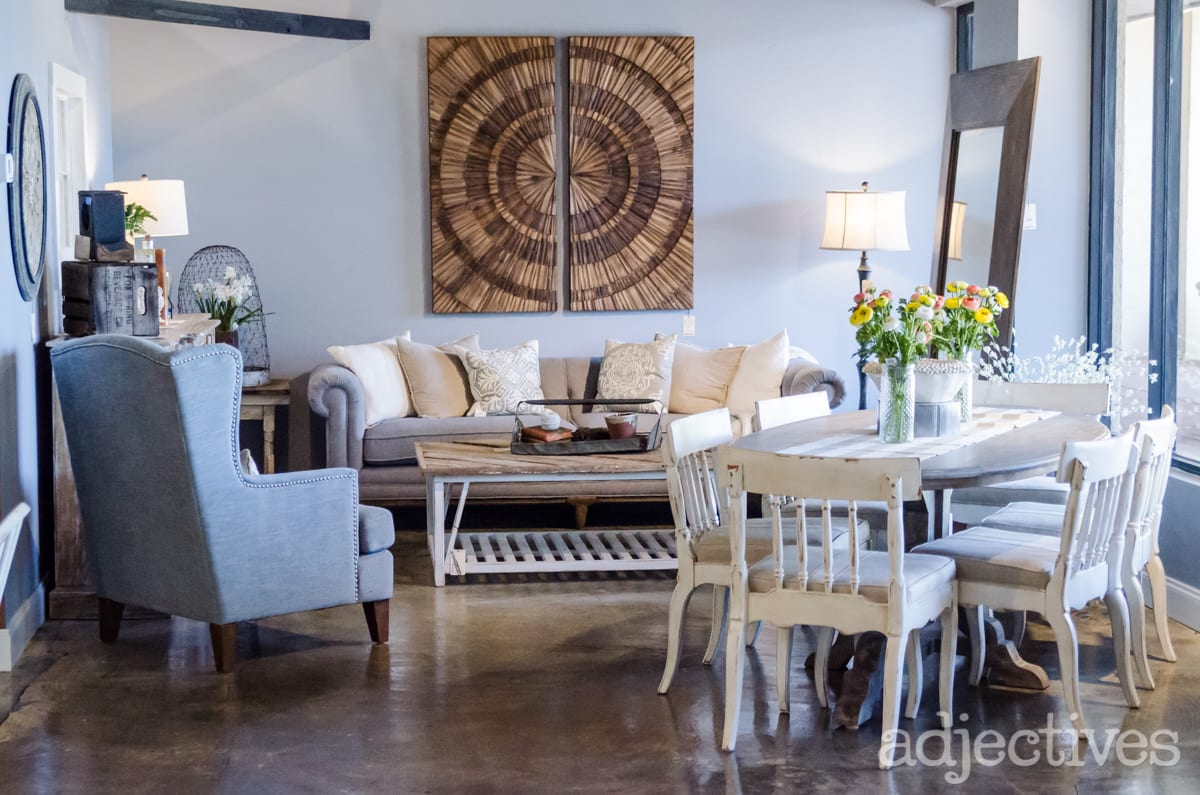 Rustic Living Room Furniture at Adjectives