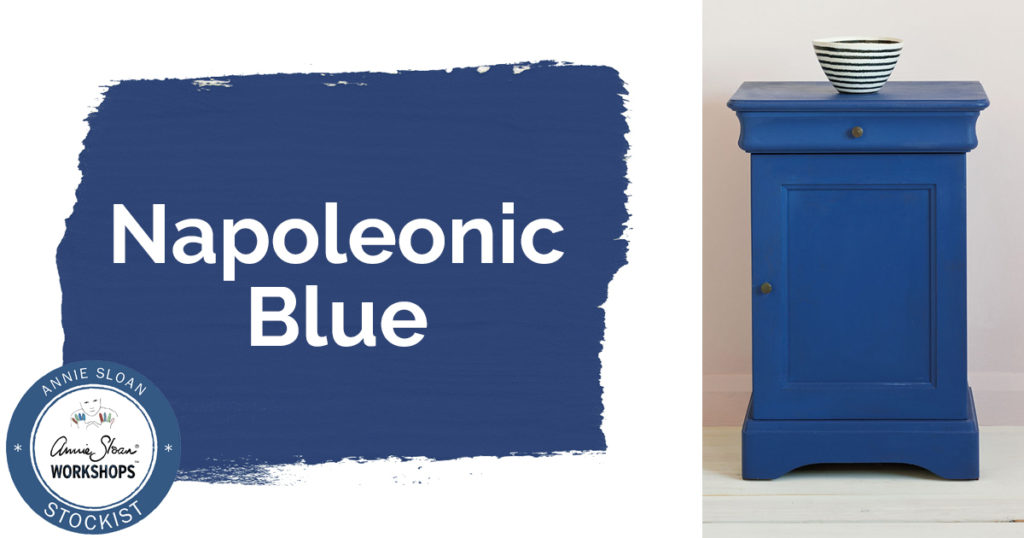 May Color Of The Month Annie Sloan Chalk Paint Napoleonic Blue Adjectives Market